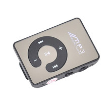 Hot sale Free shipping & Wholesale! NC1888 Vogue Mirror Clip USB Digital Mp3 Music Player Support 1-8GB SD TF Card promotion