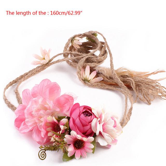 Flower Bridal Boho Headband