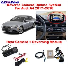 Liislee Reverse Camera For Audi A4 2017~2018 Interface Adapter Parking Rear Backup Connect Original Screen MMI Decoder