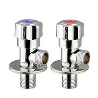 Кран из чистой меди для холодной и горячей воды  смесительный клапан для ванной комнаты  кухонные раковины  туалетный клапан