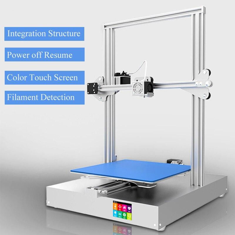 Newsest AM-300 imprimante 3D ecran tactile mise hors tension cv grand cadre métallique connexion Wifi impressora 3d kit complet imprimante 3D