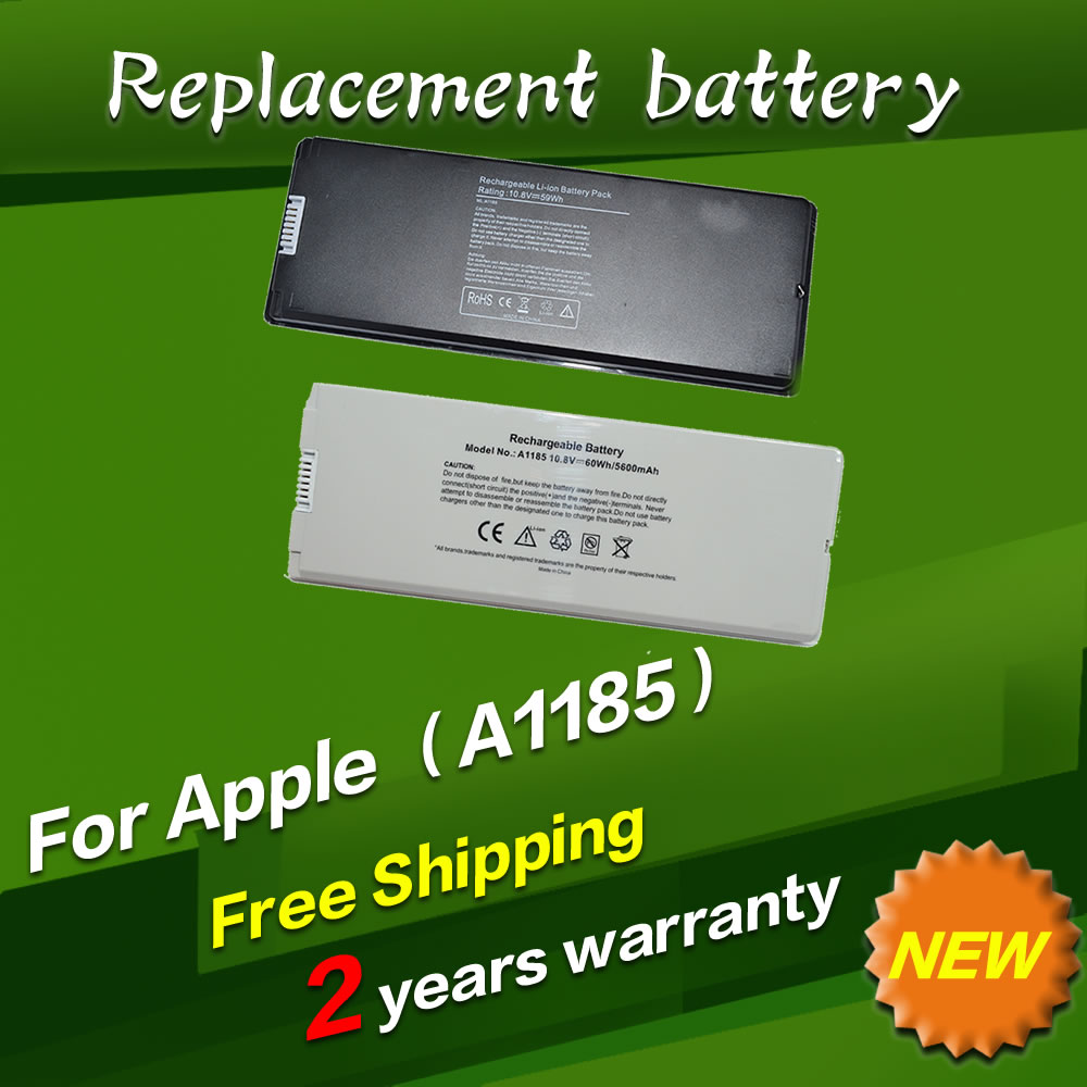 JIGU White Laptop Battery For apple MA566 A1185 MA566FE/A MA566G/A MA566J/A For MacBook 13 A1181 MA472 MA701 apple mc704zm a white