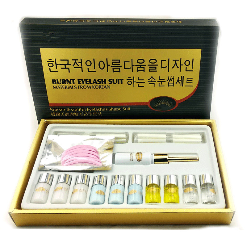 1 set korea lash lift perm set with perfume smell by free shipping free shipping wedding lady perfume personalized guestbook gb030