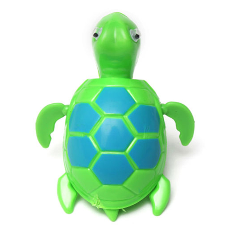 FBIL-Floating Wind-up Swimming Turtle Summer Toy For Kids Child Children Pool Bath