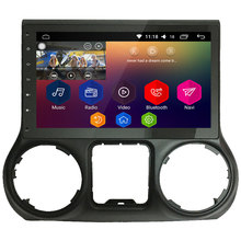 """10,1 """"IPS WIFI Android 8,1 Octa Core 2 GB RAM 32 GB ROM RDS BT coche DVD reproductor Multimedia estéreo para Jeep Wrangler 2011-2018"""