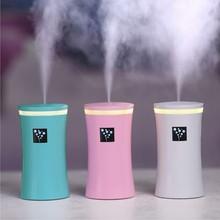 230ML  Ultrasonic Humidifier USB Car Humidifier Mist Maker Mini Aroma Essential Oil Diffuser Aromatherapy Home Office