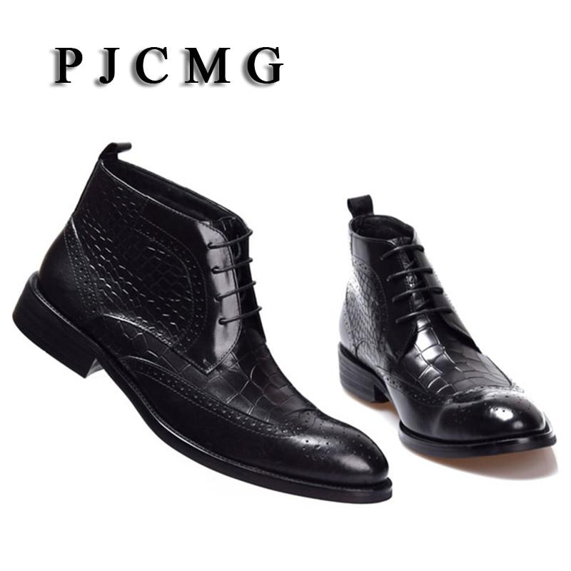 Yüksək keyfiyyətli kişilər PJCMG qış ayaq biləyi suya - Kişi ayaqqabıları - Fotoqrafiya 3
