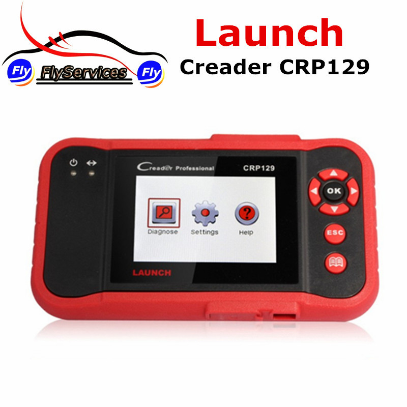 100% Original Launch Creader CRP129 Dignostic Tool Creader CRP 129 Function As LAUNCH Creader VIII Support Multi-languages