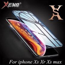 5Pcs For iPhone XR X XS MAX Glass screen protector Film Tempered iphone xs max xr x Front