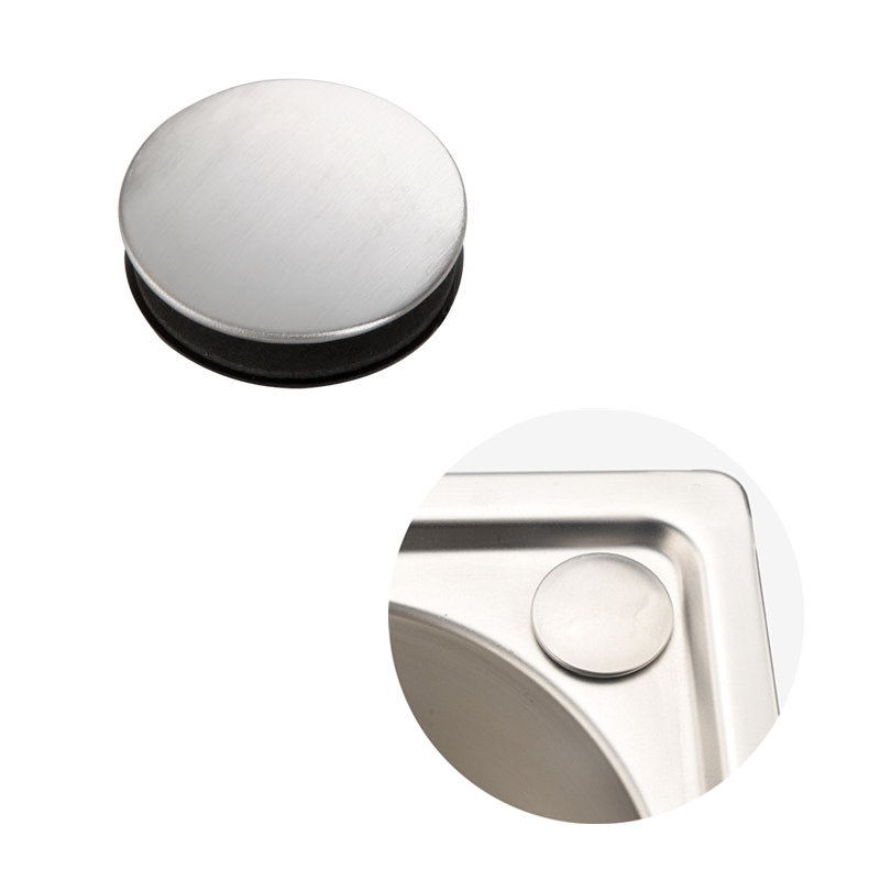 stainless steel sink soap dispenser hole cover sink decorative cover for soap dispenser hole plug kitchen accessories