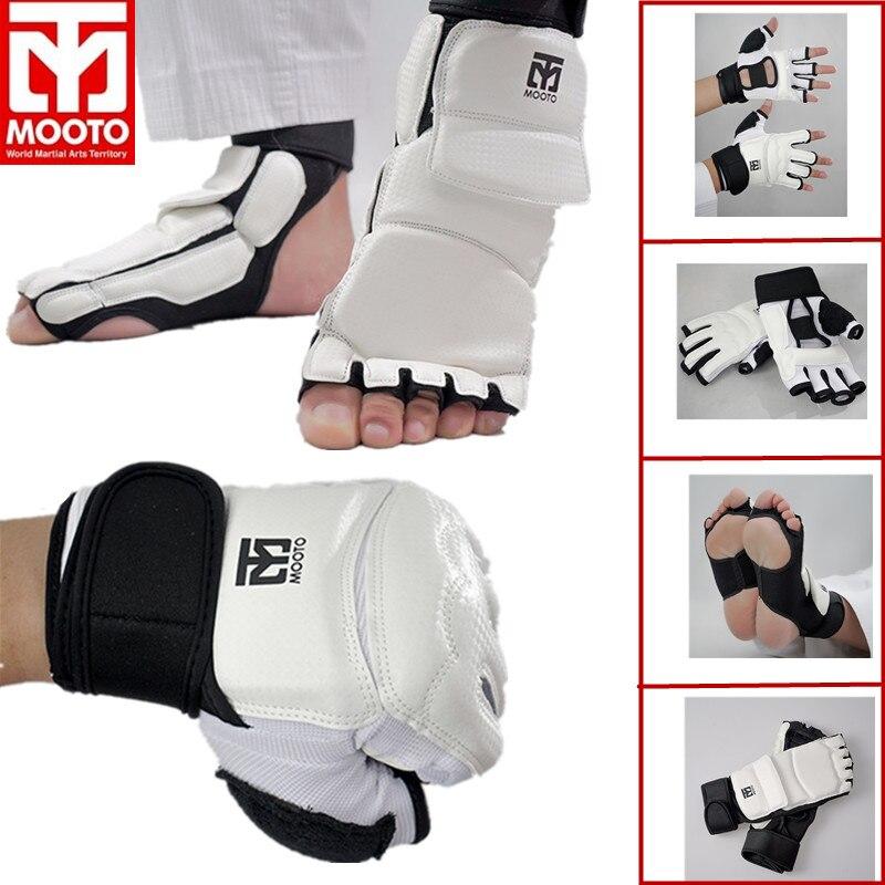"Rhingo Champion Karate Taekwondo Sparring Foot Kick Pad Black Child Size Kids 8/"""