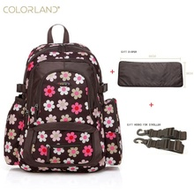 Colorland Baby Stroller Nappy Diaper Bag Backpack Mom Mummy Maternity Backpacks Luiertas Baby Bag Organizer Travel Bags Wetbag