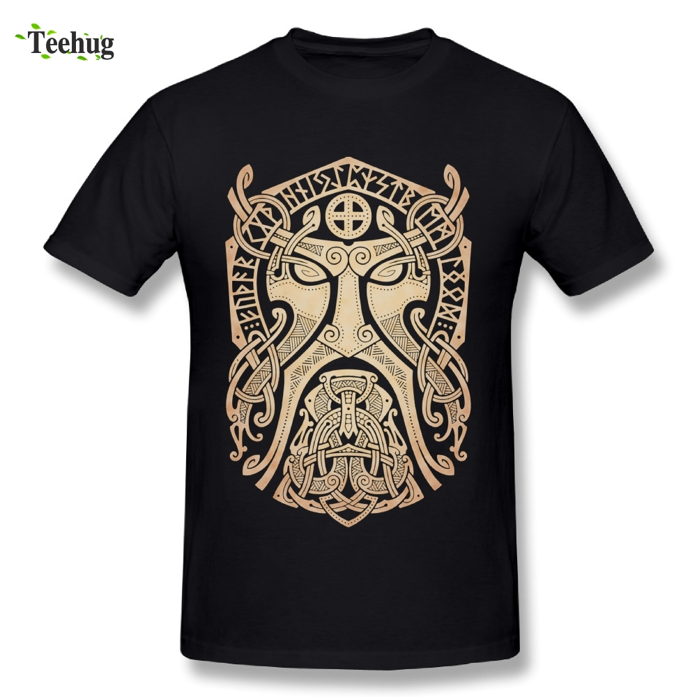 Summer Fashion Thor Vikings T Shirt Round Neck Classic Movie Man T-Shirt
