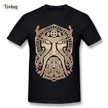 Summer Fashion Thor Vikings T Shirt Round Neck Classic Movie Man T-Shirt