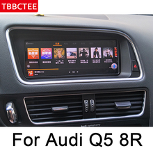 Android car multimedia player Navigation For Audi Q5 8R 2008~2017 MMI Navi GPS BT Support 4G 3G WiFi Radio stereo HD Screen Map недорого