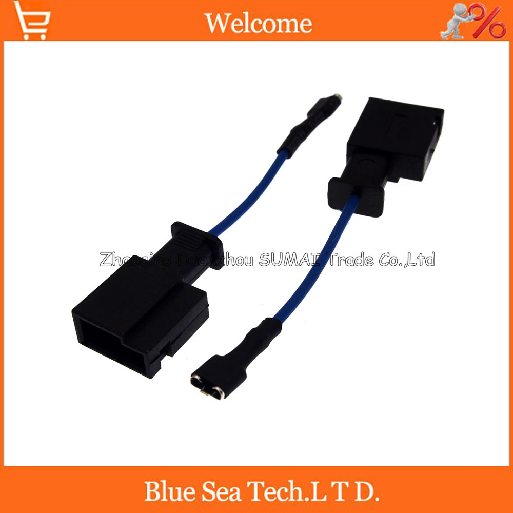 1Pin horn adapter,Auto speaker connector,horn plug,Car electrical modified for TOYOTA,Camry, Highlander, Carola etc. special car trunk mats for toyota all models corolla camry rav4 auris prius yalis avensis 2014 accessories car styling auto