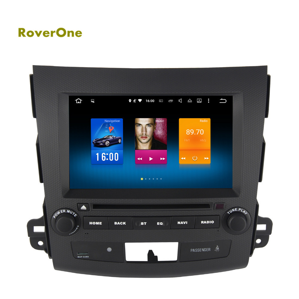 for mitsubishi outlander xl ex android 6 0 autoradio gps. Black Bedroom Furniture Sets. Home Design Ideas
