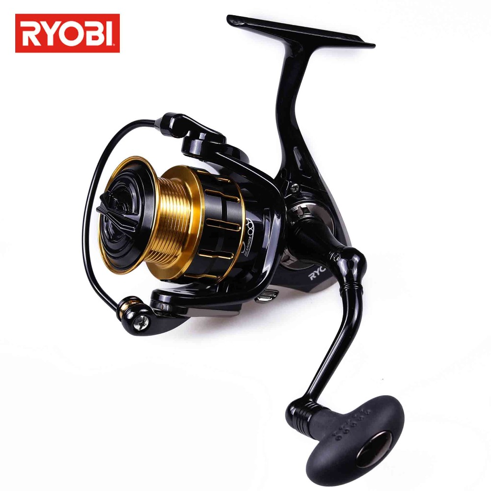 Ryobi Fishing Reel MATURITY Spinning Reel Fishing wheel Max Drag 3kg Spinning Reel for Fishing 5.2:1 Suit Saltwater /freshwater goture ares max series fishing reels saltwater baitcasting reel max drag 10kg 6 3 1 left right hand carbon fiber drag system