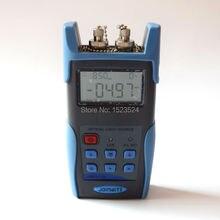 Jw3116 alta calidad 850 / 1300 / 1310 / 1550nm de mano de fibra óptica fuente de luz con FC SC ST conector