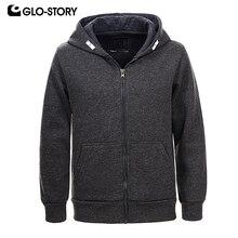 GLO-STORY Childen Boys 2018 Casual Streetwear Fleece Hoodie Coats Teenage Kids Fleece Knitted Tracksuit Sweatshirts Top BPU-6642