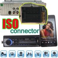 L'europe Gratuite Livraison Rapide Voiture Radio Bluetooth Auto Voiture Audio stéréo Bluetooth Lecteur Téléphone AUX-IN MP3 FM USB 1 Din remote12V