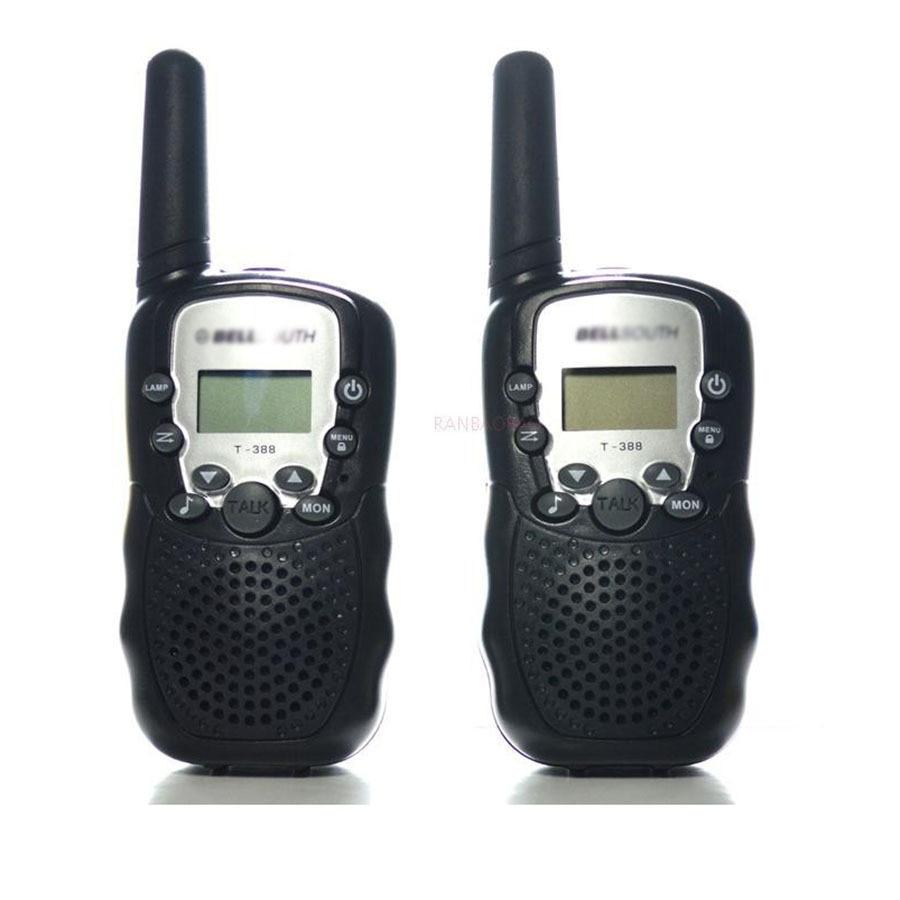 imágenes para T-388 2 unid Niños Walkie Talkie Par pmr portátil Radio Station For Amateur CB Radio Móvil Transceptor de Radio Intercomunicador T388