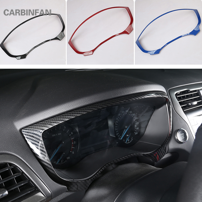 Carbon Fiber window switch panel cover Tirm For Ford Fusion Mondeo 2013-2018