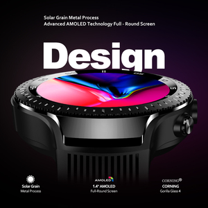 """Image 2 - Новый zeblaze Thor 4 Dual 4 г умные часы 5.0MP + 5.0MP двойная камера Android часы 1,4 """"AOMLED дисплей gps/ГЛОНАСС 16 Гб Смарт часы для мужчин"""
