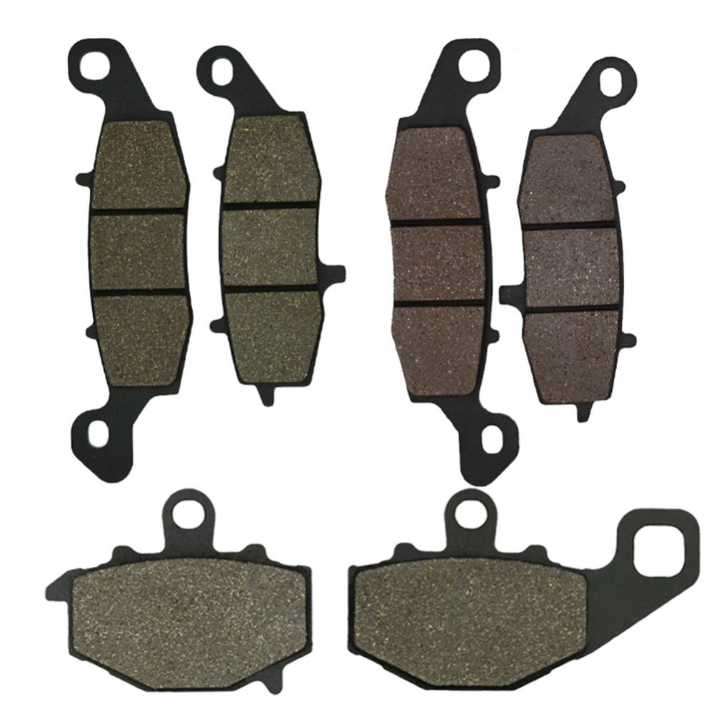 Front and Rear Brake Pads for Kawasaki KLE 650 KLE650 Versys 07-13 ER6F ER-6F 06-13 ER6N ER-6N 06-13 Z750 Z750S ZR750 04-07