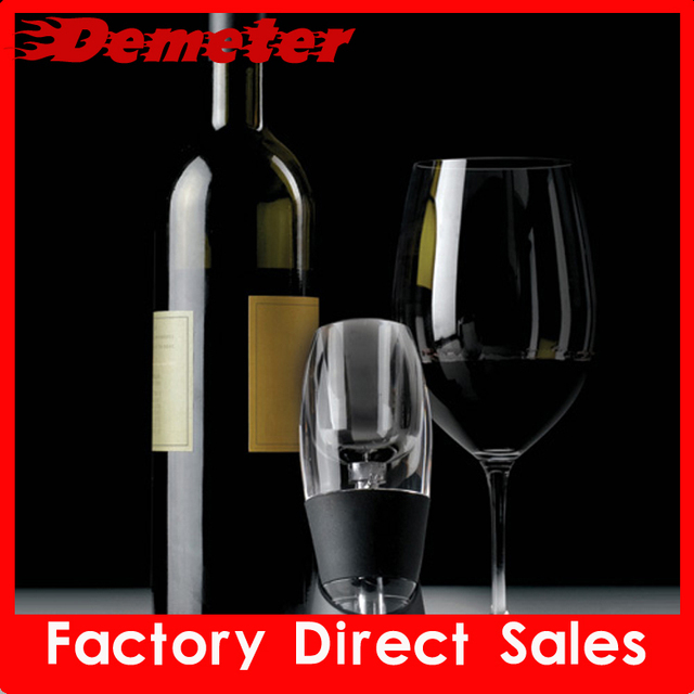 ZK 2012 most popular D320 wine decanter aerating device deluxe package add wine  flavor keep the wine fresh free shipping