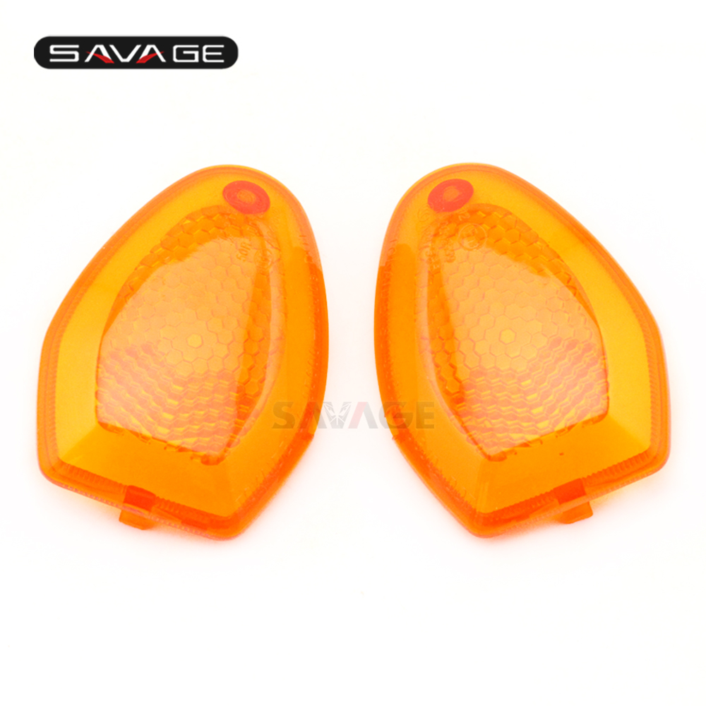 Turn Signal Indicator Blinker Light Lens Cover For <font><b>SUZUKI</b></font> GSF 1250S Bandit <font><b>GSX</b></font> 650F <font><b>GSX</b></font> <font><b>1250</b></font> <font><b>FA</b></font> SV 650 Motorcycle Accessories image