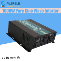 Micro grid tie inverter 12V/24V 1000W Peak Power Inverter Voltage Convertor Transformer 48V Automatic Adaptable