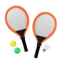 1 пара из Бадминтон Теннис набор ракетки воды Теннис Спорт Наборы для ребенка детские развивающие игры на открытом воздухе Игрушечные лошад...