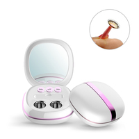 Portable Ultrasonic Contact Lens Cleaner Auto Case Daily Care Lenses Solution