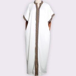 Image 1 - Африканские платья для женщин, традиционное Африканское длинное платье Bazin, африканская одежда с вышивкой, Дашики, платье для женщин
