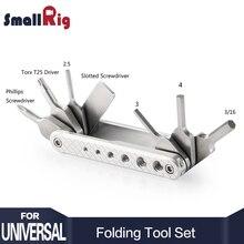 Набор складных инструментов SmallRig с отвертками и гайковертами 2213