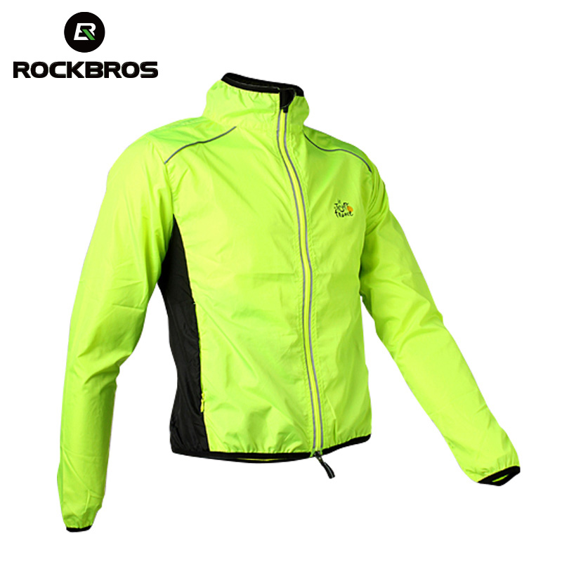 ROCKBROS Cycling Mens Riding Breathable Reflective Jersey MTB Cycle Clothing Long Sleeve Windproof Quick Dry Coat Jacket 6ColorROCKBROS Cycling Mens Riding Breathable Reflective Jersey MTB Cycle Clothing Long Sleeve Windproof Quick Dry Coat Jacket 6Color