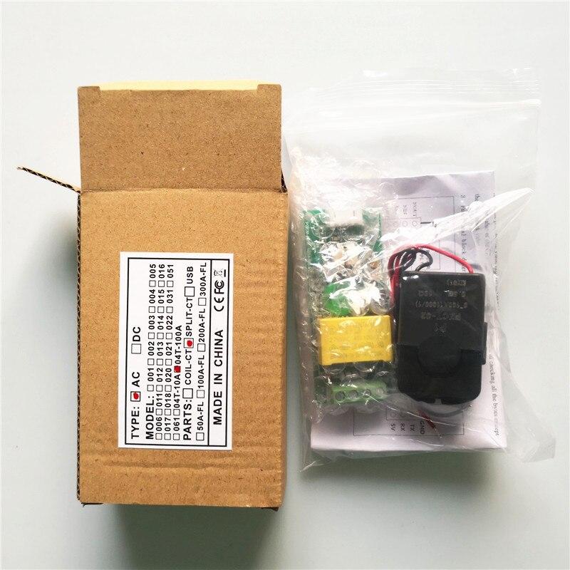 """""""PZEM004T"""" nauja versija AC 80–260 V 100A TTL prievado - Matavimo prietaisai - Nuotrauka 6"""