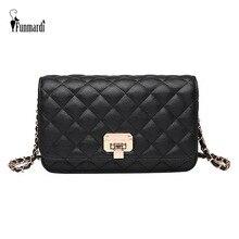 FUNMARDI Classic Chain Women Bags Messenger Diamond Lattice PU Leather Shoulder Small Satchels Womens Pouch WLHB1925