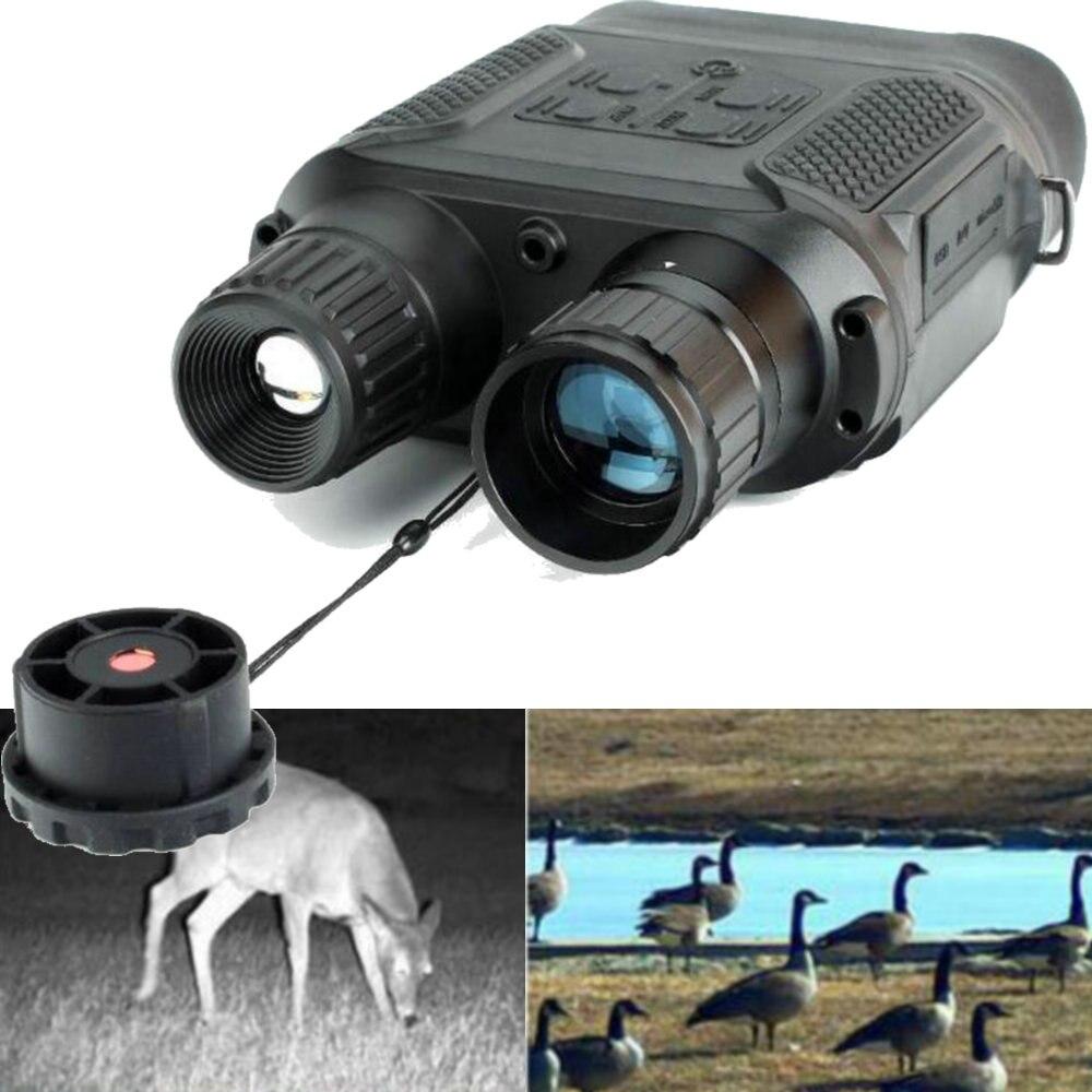 Цифровой Ночное видение бинокль для охоты 7x31 с 2 дюймов TFT ЖК-дисплей HD инфракрасная камера видеокамера 1300ft/400 м диапазон обзора