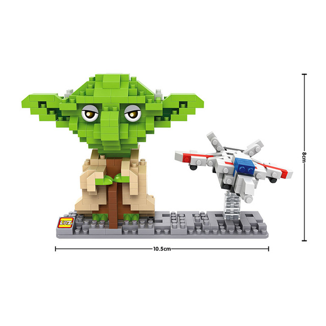 Star Wars Action Figures DIY Assemble Master Yoda Darth Vader BB8 Model Building Blocks Toy Present Gift