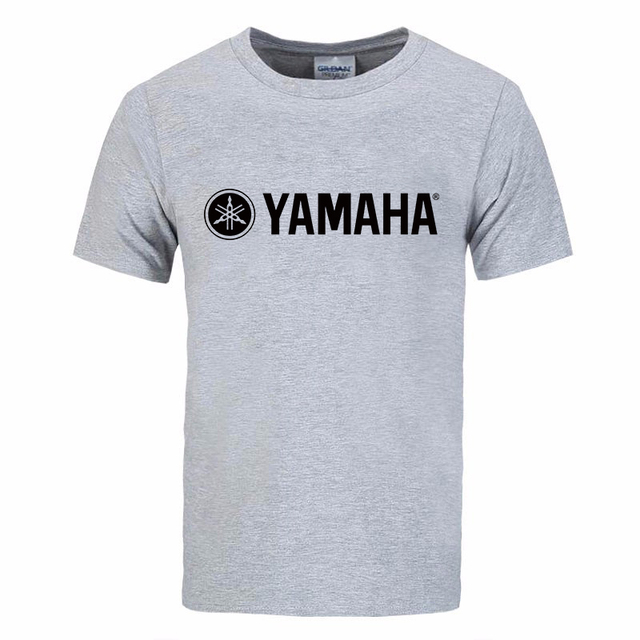 Cool Fashion YAMAHA logo T shirt Brand Clothing Letter Print tees Short Sleeve High Quality Raglan T-Shirt for women and men top