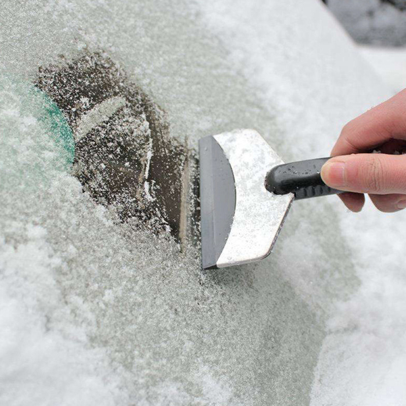 Car Vehicle Auto Snow Cleaning Remover Windshield Shovel Handheld Ice Scraper Snow Brush Car Ice Scraper Without Return Spade & Shovel Garden Tools
