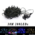 Holiday lighting string DC24V 30M 200leds Xmas Garland navidad natale Wedding Party decoration Outdoor christmas led fairy light