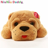 Niuniu Daddy Plush Toy Big Dog 47 Giant Stuffed Puppy Dog Soft Extremely Plush Animal Toy Pillow Birthday Present For Childen