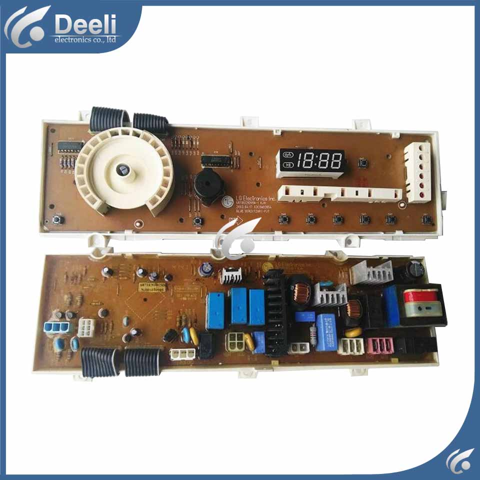 100% tested for washing machine board WD-N80051 6871EN1015D 6870EC9099A -1 motherboard used board free shipping 100% tested for sanyo washing machine board xqb46 466 motherboard on sale