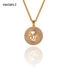 Z Boho Cute Rune Glitter Crystal Pendant Choker Necklace for Women 4 Sets  Fashion 4957d5546bfd