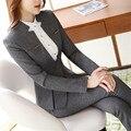 Для женщин s официальные костюмы рабочая одежда офис единые конструкции офисные Пиджаки для feminino униформа для сотрудниц спа-салонов Элегантный бизнес брючные к - фото
