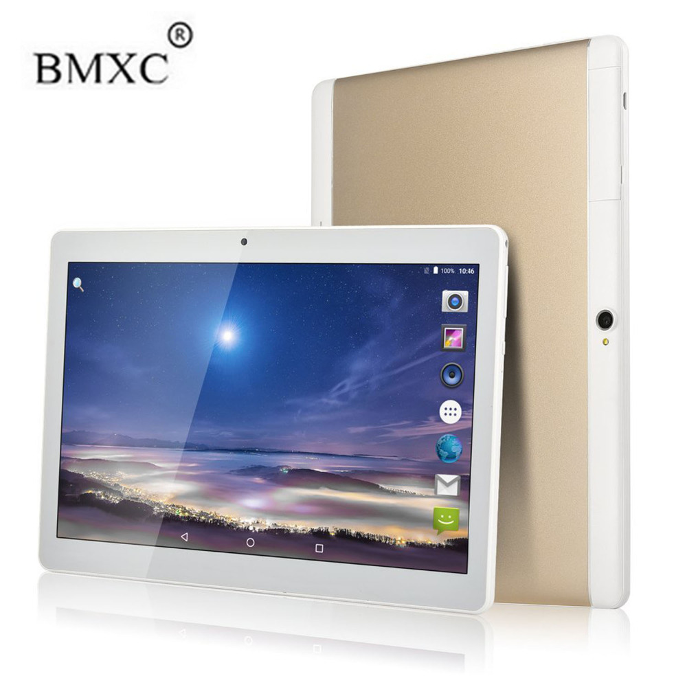 BMXC 10 inch Android 7.0 OS 3G tablet pc Octa Core 2GB RAM 32GB ROM 1280*800 IPS Kids Gift MID Tablets Dual SIM Bluetooth 2018 new 10 1inch tablet pc android 7 0 4 gb ram 32gb rom cortex a7 octa core camera 5 0mp wi fi ips telefoon tabletten pc