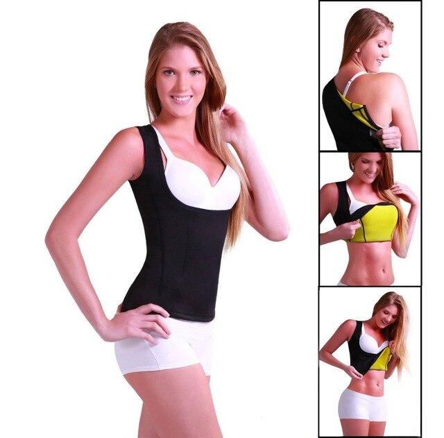 Hot Shapers Redu Shaper Shirt Woman Neoprene Slimming Thermo Redu Shaper Cami Hot Slimming Shaper Women Tops